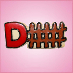 Pink D-Fence Cookie Cutter