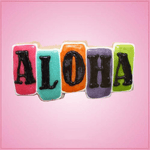 Pink Aloha Sign Cookie Cutter