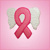 Pink Angel Wings Cancer Ribbon Cookie Cutter