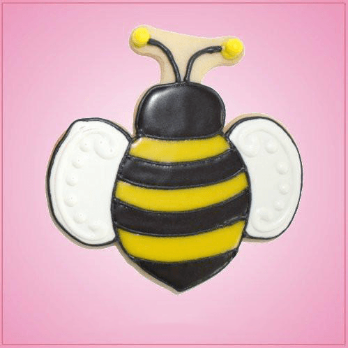 Pink Bailey Bee Cookie Cutter