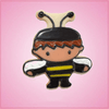 Pink Barry Bee Boy Cookie Cutter