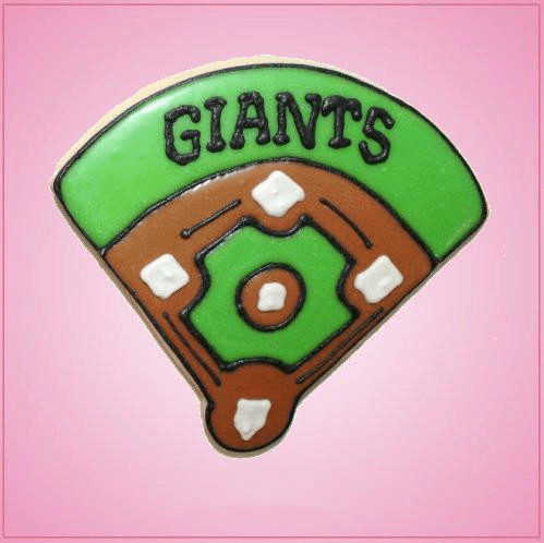 Pink Baseball Field Cookie Cutter