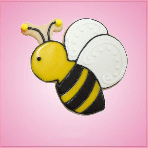 Pink Beatrice Bee Cookie Cutter