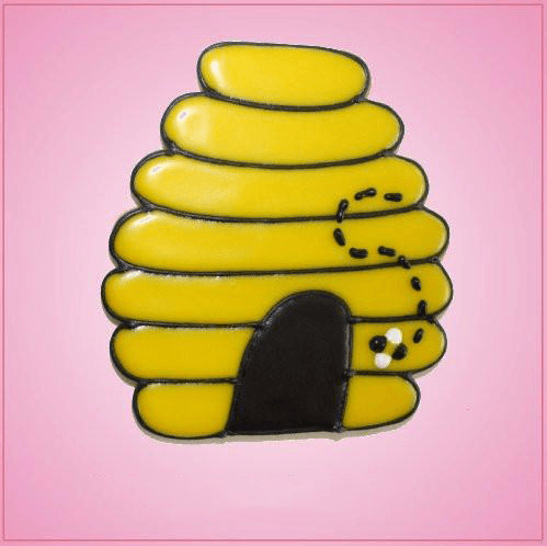 Pink Bee Hive 2 Cookie Cutter