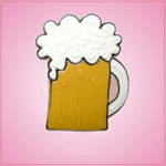 Pink Beer Mug Cookie Cutter
