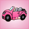 Pink Beetle Convertible Cookie Cutter