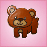 Pink Bernie Bear Cookie Cutter