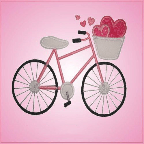 Pink Bicycle with Basket Cookie Cutter
