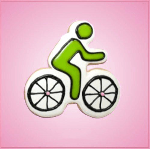Pink Biker Cookie Cutter