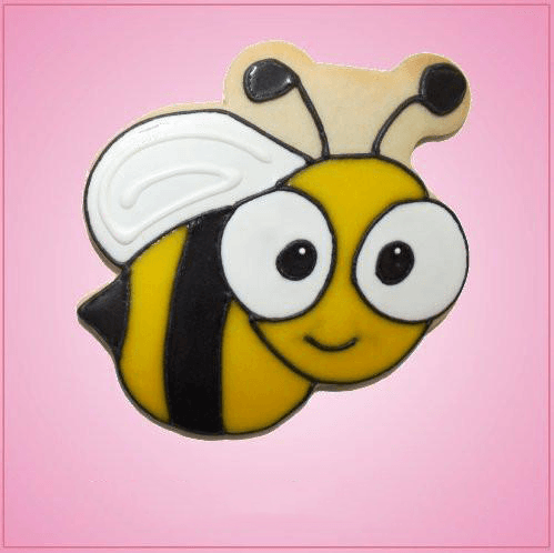 Pink Billy Bee Cookie Cutter