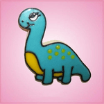 Pink Brachiosaurus Basic Cookie Cutter