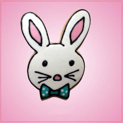 Pink Buddy Boy Bunny Cookie Cutter