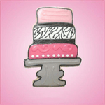 Pink Cake Tier Cookie Cutter