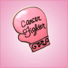 Pink Cancer Glove Fight Like A Girl Cookie Cutter