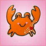Pink Casey Crab Cookie Cutter