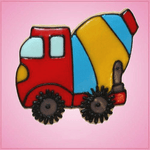 Pink Cement Truck Cookie Cutter