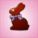 Pink Chocolate Bunny Cookie Cutter