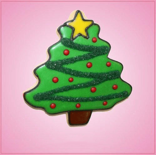 Pink Christmas Tree Cookie Cutter