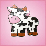 Pink Collin Cow Cookie Cutter