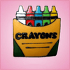 Pink Crayon Box Cookie Cutter