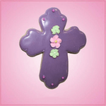 Pink Cross Detailed Cookie Cutter
