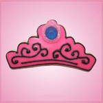 Pink Tiara Crown Cookie Cutter