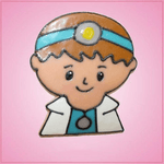 Pink Doctor Dan Cookie Cutter