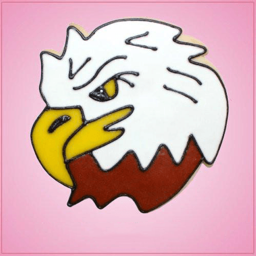 Pink Eagle Head Cookie Cutter