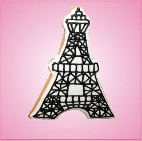 Pink Eiffel Tower Cookie Cutter