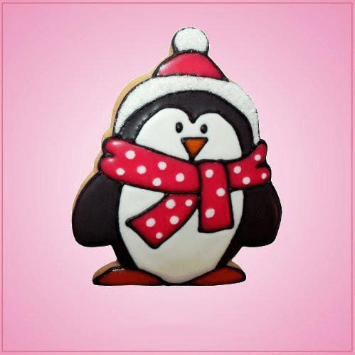 Pink Erin Penguin Cookie Cutter