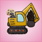 Pink Excavator Cookie Cutter