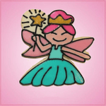 Pink Fairy Godmother Cookie Cutter