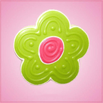 Pink Flower 5 Petal Cookie Cutter