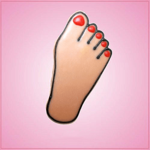 Pink Foot Cookie Cutter