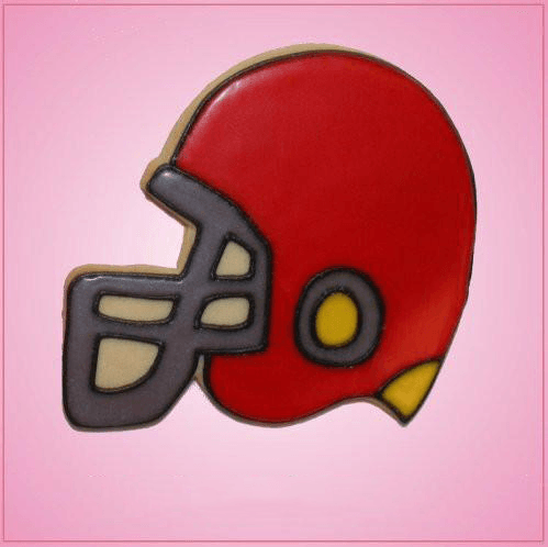 Pink Football Helmet Cookie Cutter