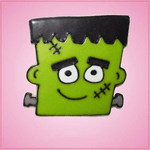 Pink Frankenstein Cookie Cutter
