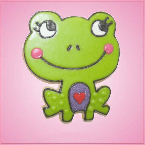 Pink Freddie Froggy Cookie Cutter