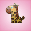 Pink Georganne Giraffe Cookie Cutter