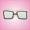 Pink Glasses Cookie Cutter