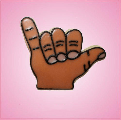 Pink Hang Loose Cookie Cutter
