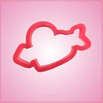 Pink Heart and Arrow Cookie Cutter