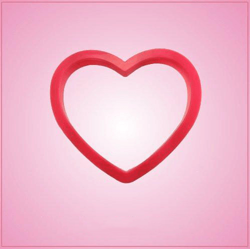Pink Heart Cookie Cutter