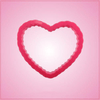 Pink Heart Scalloped Cookie Cutter