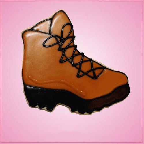 Pink Hiking Boot Cookie Cutter