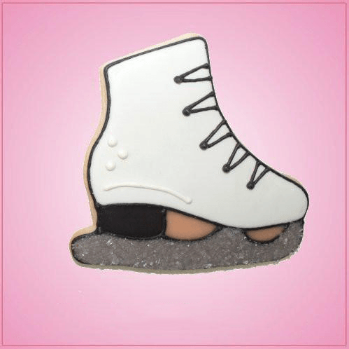 Pink Ice Skate Cookie Cutter