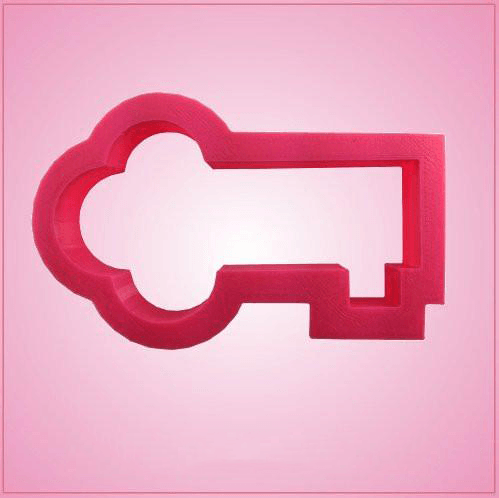 Pink Key Cookie Cutter