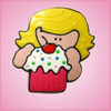 Pink Kimberly Birthday Girl With Cupcake Cookie Cutter