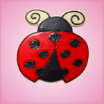 Pink Ladybug Basic Cookie Cutter