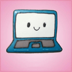 Pink Laptop Computer Cookie Cutter