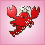 Pink Larry Lobster Cookie Cutter